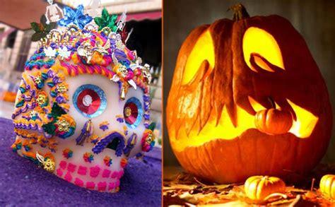 dia de muertos contra halloween ogas cosas hermosas