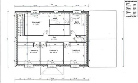 plan maison 4 chambres suite parentale avis plan pour 233 tage avec 4 chambres suite parentale