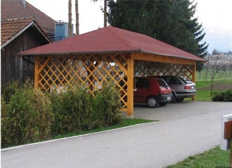 Cheap Carport Ideas by Cheap Wooden Carport W Open Trellis Sides Outdoors