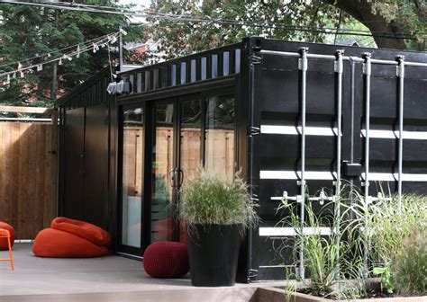 Garage Plans With Porch by Shipping Container Homes Nifty Homestead