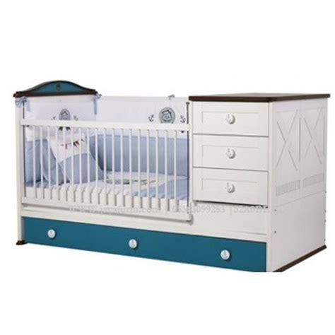 Ranjang Bayi ranjang bayi minimalis laki laki putih biru jayafurni