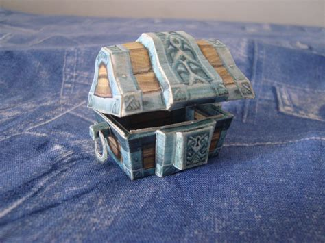 Wow Papercraft - papercraft wow treasure chest by vandreraia on deviantart