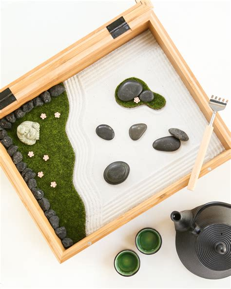 Mini Zen Garden by Mini Zen Garden Thirsty For Tea