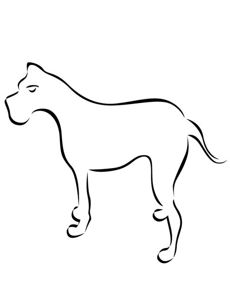 easy puppy coloring pages free coloring pages of easy dog