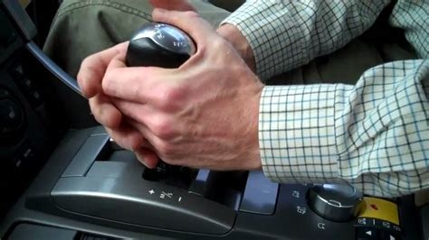 How To Remove A Shift Knob by How To Change Gear Knob On Range Rover Sport