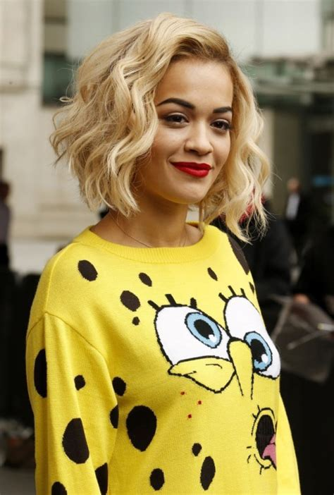 Rita Ora Choppy Hairstyles | top 40 best hairstyles for thick hair styles weekly