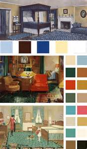 vintage color schemes 6 color palettes based on early 1900s vintage bedrooms