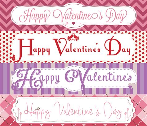 valentine bag toppers printable valentines day bag toppers valentine s day treat bag toppers designs by miss mandee