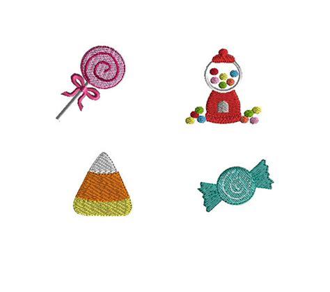 design embroidery mini mini candy machine embroidery design set