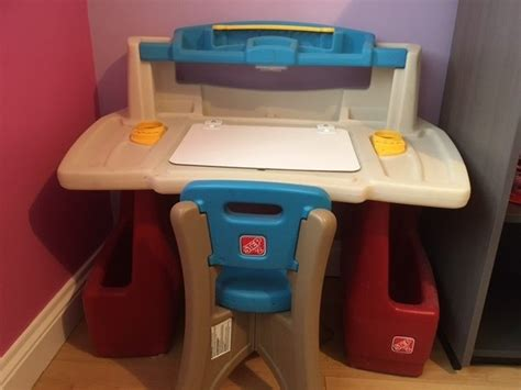 step 2 desk with chair step 2 deluxe desk and chair for sale in tallaght