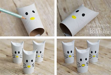 Easy Crafts Using Toilet Paper Rolls - simple hello craft using toilet paper rolls