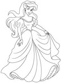 Hobby Colouring Pages Ariel On Pinterest Disney Coloring  sketch template