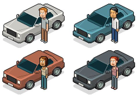pixel car png how to create a pixel car in adobe photoshop