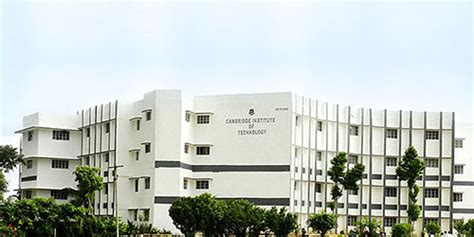 Cambridge Mba Fee Structure by C I T Cambridge Institute Of Technology Ranchi
