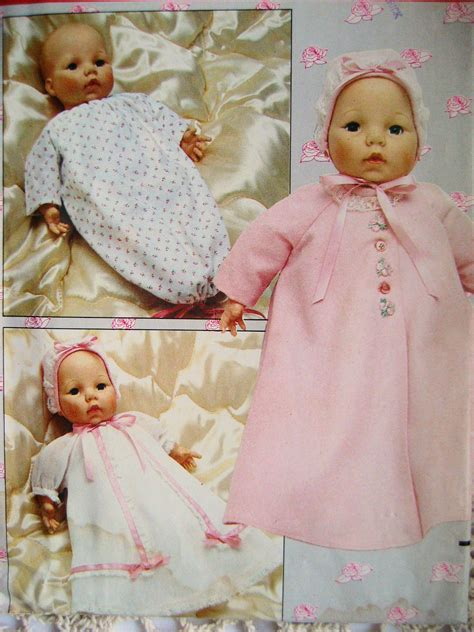 butterick 254 4638 baby doll clothes pattern 18