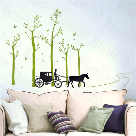 decor home on country road large wall decals stickers