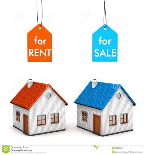 house sell rent stock illustration illustration