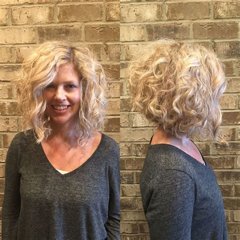 aline perms blonde curly inverted bob by stylist misty callaway