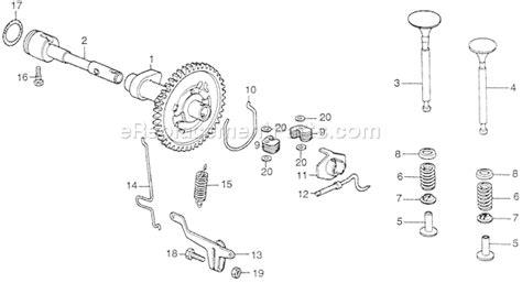 honda g65 engine honda gs65 parts list and diagram type bd vin g65