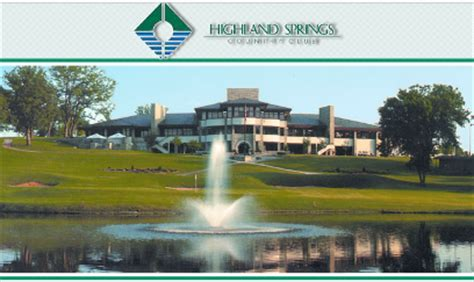 Springfield Missouri State Mba Rank by Highland Springs Country Club Springfield Missouri