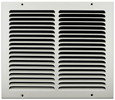 10 x 20 floor return air grille 12 x 10 sted steel return air grille white