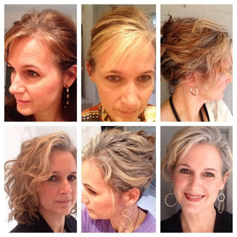 before after gray hair charlotte whelan stilwell transici 243 n en 7 meses you go