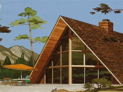modern a frame homes modern vacation homes atomic a frames chalets eames era