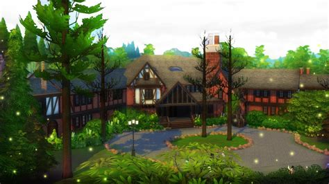 salvatore boarding house  sims  speed build youtube