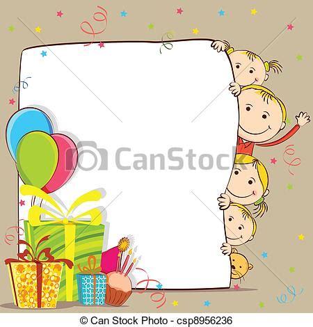 clipart compleanno bambini clipart vettoriali di festeggiare bambini compleanno