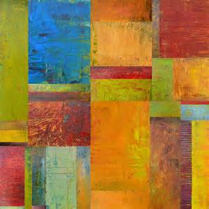 color collage abstract color study collage ll painting by calkins