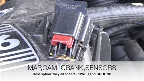 p camshaft position sensor  bank  youtube