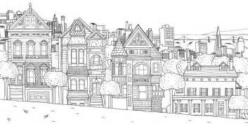 mewarnai gambar pemandangan kota yang unik ide buat rumah