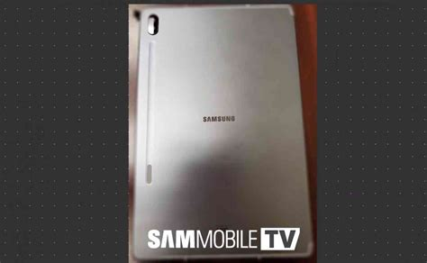 Samsung Galaxy Tab S6 2020 by Samsung Galaxy Tab S6 Leak Hints At Dual Rear Cameras S Pen With Wireless Charging Phonedog