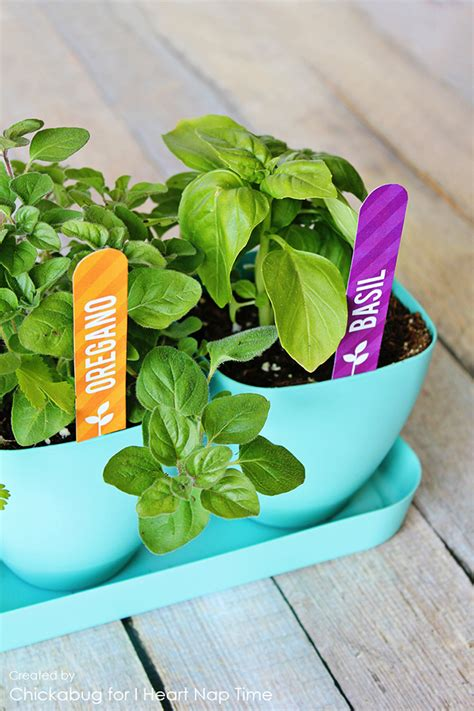 printable herb garden labels chickabug