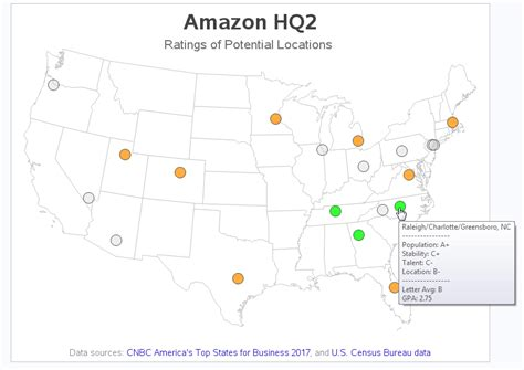 amazon hq2 what s the most likely location for amazon s hq2 sas
