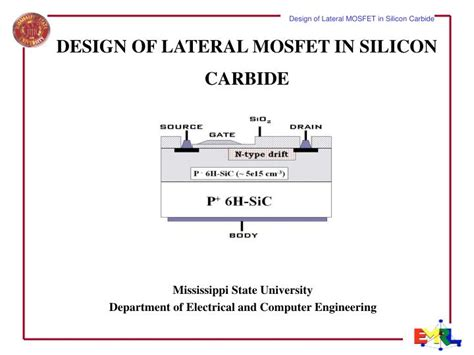silicon carbide mosfet integrated circuit technology ppt design of lateral mosfet in silicon carbide powerpoint presentation id 6135194