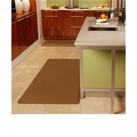 Distinctive Home Anti Fatigue Kitchen Mat - wellnessmats anti fatigue kitchen floor mat black 6x3