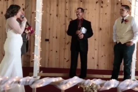 Wedding Aisle Singing by Sings To Groom While Walking The Aisle Simplemost