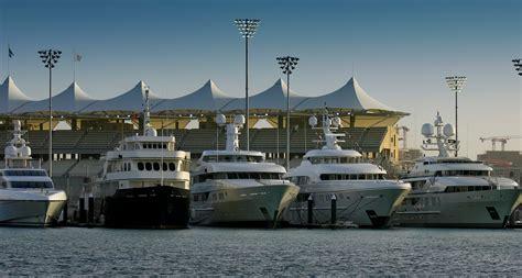 boat show yas marina abu dhabi luxury yacht charter vacations and superyachts