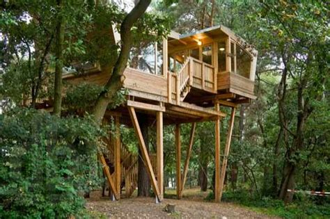 tiny tree house 210 sq ft modern treehouse tiny home