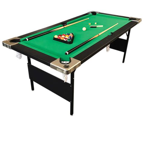 tavoli da bigliardo aladin tavolo da biliardo 6 piedi pieghevole simba