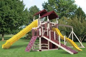 Swing Sets For Sale Vinyl Playsets And Children S Swing Sets For Sale