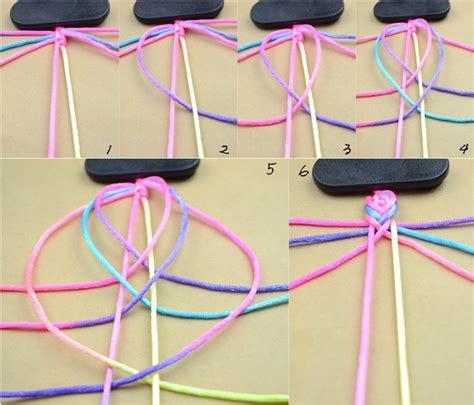 How To Make A String - freundschaftsarmband bastelanleitung wie kann so