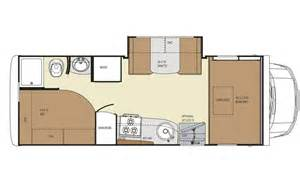 Motorhome Plans by Gallery For Gt Class B Motorhomes Floor Plans