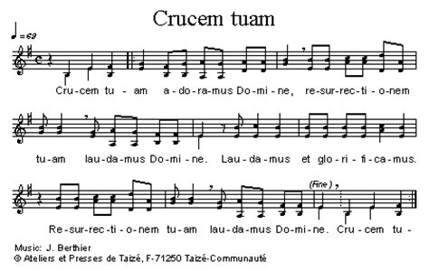 cantus mundi: crucem tuam (taizé)