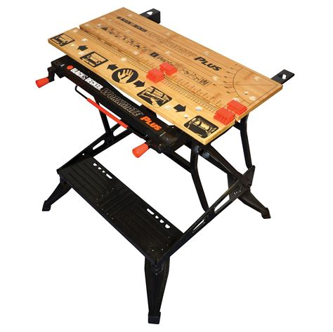 tool bench hardware storage black decker wm825 dual height deluxe workmate workbench
