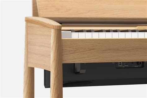 designboom wooden keyboard roland kiyola made in japan series kf 10