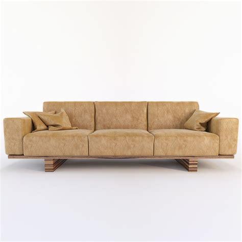 couches utah riva 1920 utah sofa 3d model max obj fbx mtl