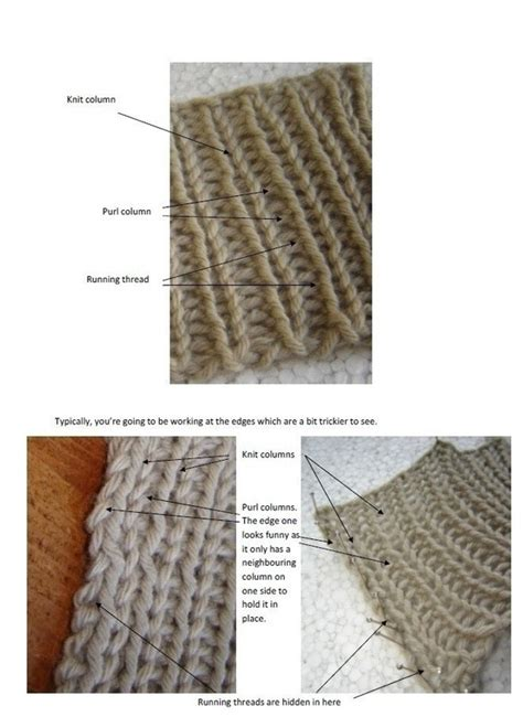 mattress knitting stitch mattress stitch on ribbing 183 how to knit 183 yarncraft on