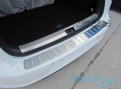 Andina 2in1 Inner Outer fit for13 vw golf 7 mk7 outer inner rear bumper protector cargo boot sill plate ebay